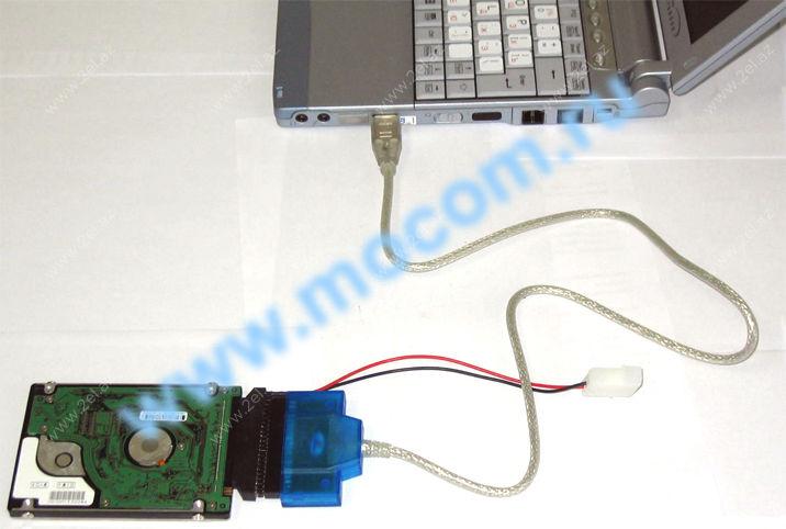 Подключить жесткий диск от компьютера к ноутбуку своими руками